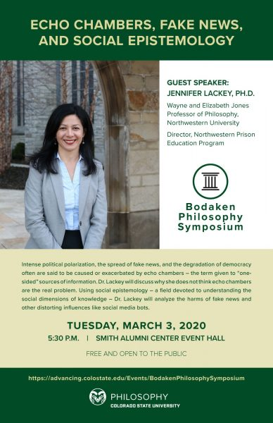 flyer for Bodaken lecture